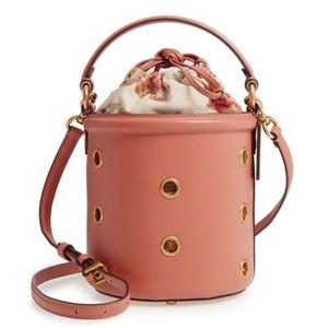 Coach Grommet Drawstring Bucket Bag